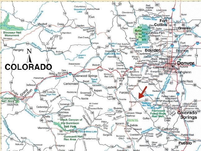 Nw Colorado Map.Colorado Building Lots For Sale